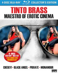Tinto Brass: Maestro Of Erotica Cinema Blu-Ray/DVD