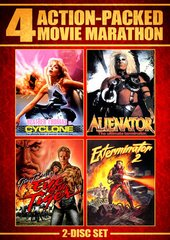 Action Packed Movie Marathon DVD