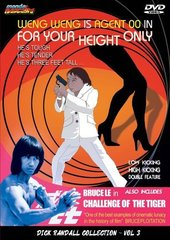 For Your Height Only / Challenge Of The Tiger DVD