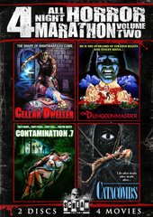 All Night Horror Marathon Volume 2 DVD