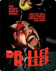 Driller Killer Blu-Ray/DVD Steelbook
