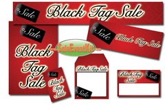 Black Tag Sale Event Kit - $150-$899