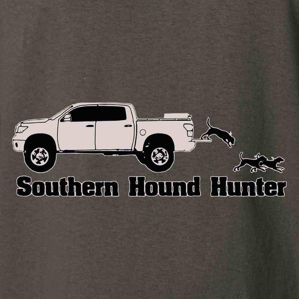 Southern Hound Hunter T Truck T-Shirt | Swamp Cracker ...