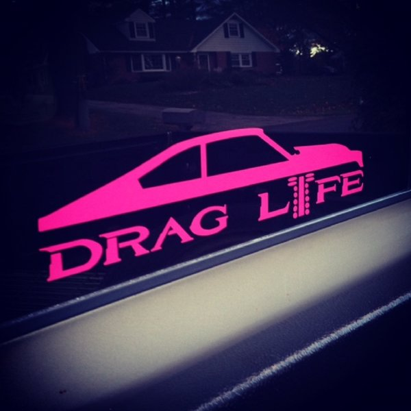 "13"" ICONS Series Drag Life Decals 