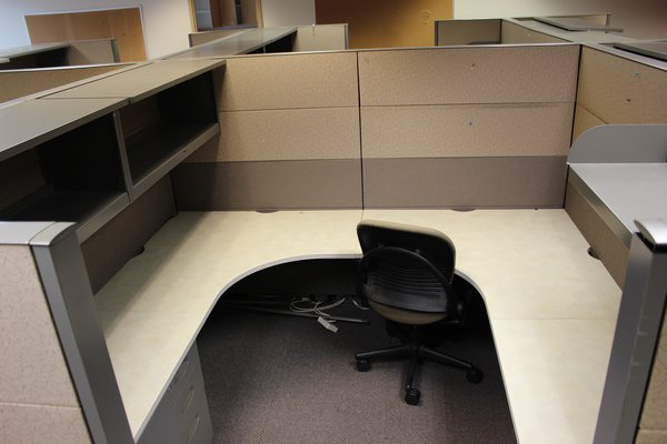 USED Steelcase Cubicles 8 x8