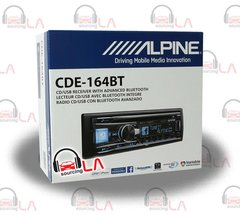 ALPINE CDE-164BT CD USB MP3 WMA AUX IPOD IPHONE EQUALIZER EQ BLUETOOTH RADIO