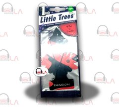 Little Trees Hanging Car and Home Air Freshener, Passion(Pack of 24)