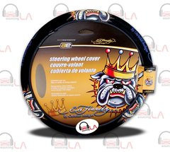 Ed Hardy® Bull-Dog Steering Wheel Cover