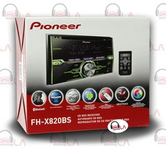 PIONEER FH-X820BS In-DASH 2-DIN CD MP3 USB CAR STEREO RECEIVER w/ BLUETOOTH