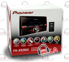 PIONEER FH-X520UI CD MP3 PANDORA IPOD USB IPHONE EQUALIZER 200W AMP CAR STEREO