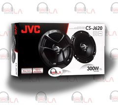 "JVC CS-J620 CAR AUDIO STEREO 6.5"" 2-WAY POWER SPEAKERS SET"
