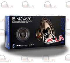 "MEMPHIS 15-MCX620 6.5"" CAR AUDIO 2-WAY ALUMINUM ALLOY TWEETERS COAXIAL SPEAKERS"