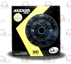 "Kicker 41DSC65 6-1/2"" D-Series Coaxial 2-Way Speaker With 1/2"" Tweeter"