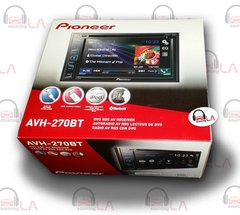 "PIONEER AVH-270BT DOUBLE DIN 6.2"" CAR STEREO CD/DVD/MP3/BLUETOOTH RECEIVER"