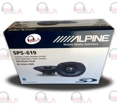 "Alpine SPS619 6x9"" 520W 3 Way Type S Series Car Audio Speakers"