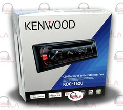 KENWOOD KDC-162U SINGLE DIN IN DASH CAR STEREO CD/AM/FM/MP3/IPHONE/ANDROID