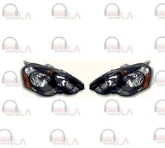 NTR2344B 2002-2004 Acura RSX Diamond Back HL Black/ Clear