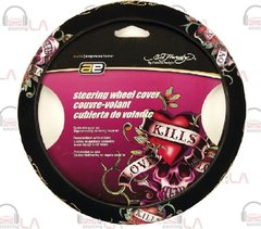Ed Hardy® Love Kills Steering Wheel Cover