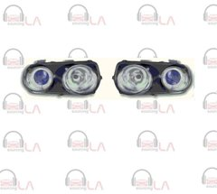 NTR2019B 1994-1997 Acura Integra Angel Eye Projector Black/ Blue