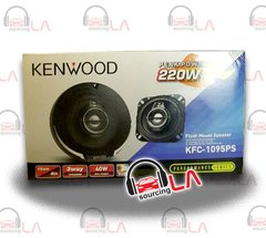 "KENWOOD KFC1095PS 4"" 3-WAY 220W CAR AUDIO COAX SPEAKERS"
