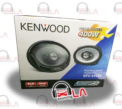 "KENWOOD KFC-6965S 6""x9"" 800W MAX 3WAY SUPER TWEETERS COAXIAL CAR STEREO SPEAKERS"