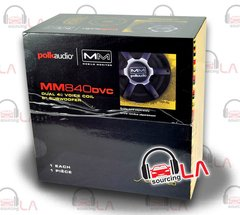 "POLK AUDIO MM840DVC 250W 8"" MOBILE MONITOR DUAL 4 OHM CAR/MARINE SUBWOOFER"