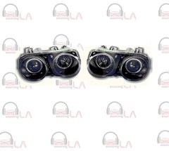 1994-1997 Acura Integra Angel Eye Projector Black/ Clear NTR2018B