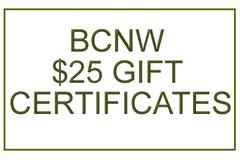 BCNW Gift Certificate