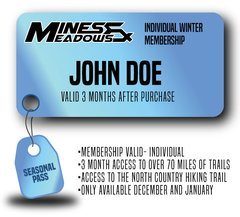 Mines & Meadows Individual Winter Seasonal Pass