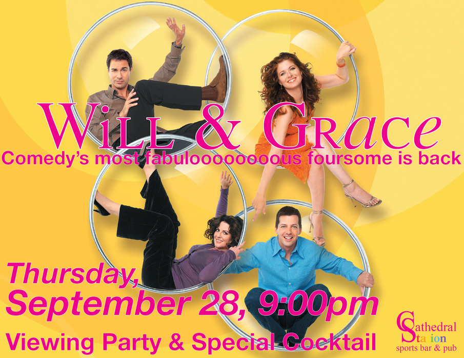 Will & Grace Viewing Party