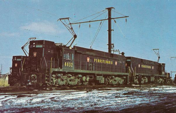 PRR E44 Electric Locomotive No. 4432.