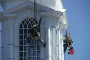 church steeple painting and repair