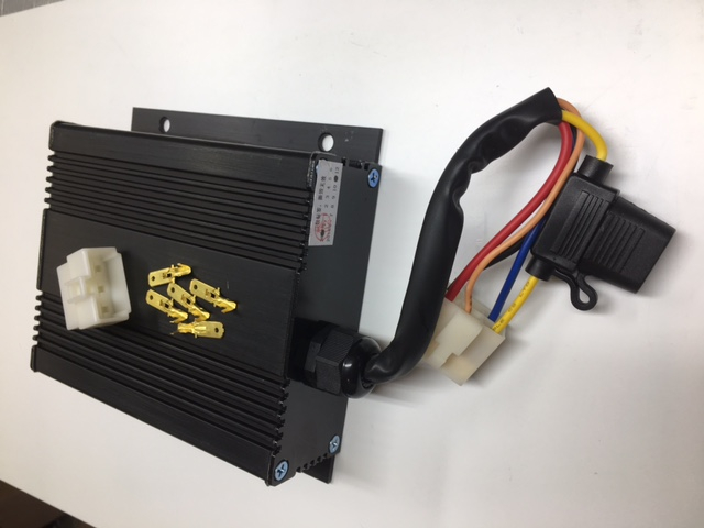 golf cart accessories  25 or 30 amp voltage reducers provide safe reliable  12v power