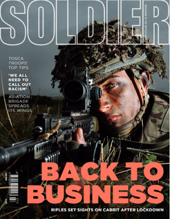 Craig Lawrence review in the Army's Soldier Magazine