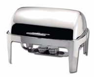 8 Quart Roll Top Chafing Dish