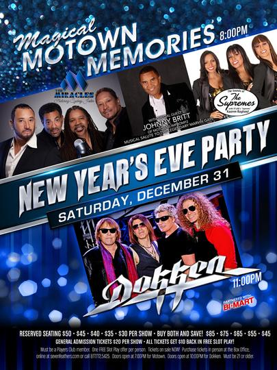 Magical Motown Memories ​New Year's Eve Party