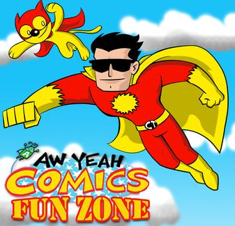 AW YEAH COMICS FUN ZONE