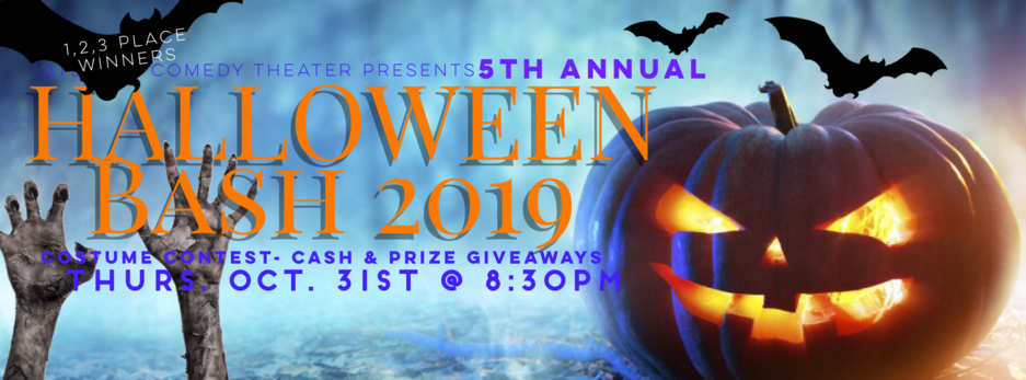 halloween bash 2019 atlanta comedy netherworld fright fest haunted house uptown comedy punchline comedy