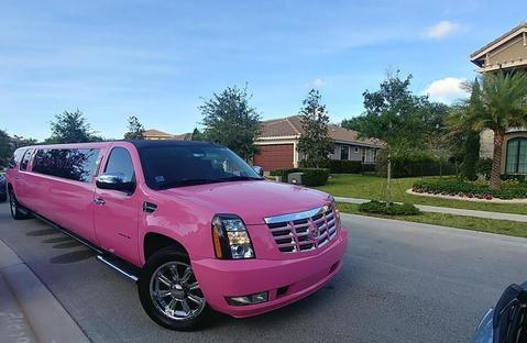 Pink Limo service