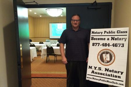 New York State Notary Public Classes rainer Mike Brown