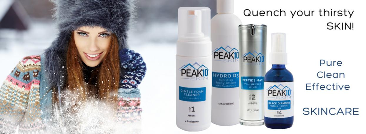 PEAK 10 SKIN CARE Hydration Pure Clean Effective Home Page Photo 3 Products
