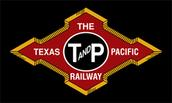 Texas and Pacific Railway herald
