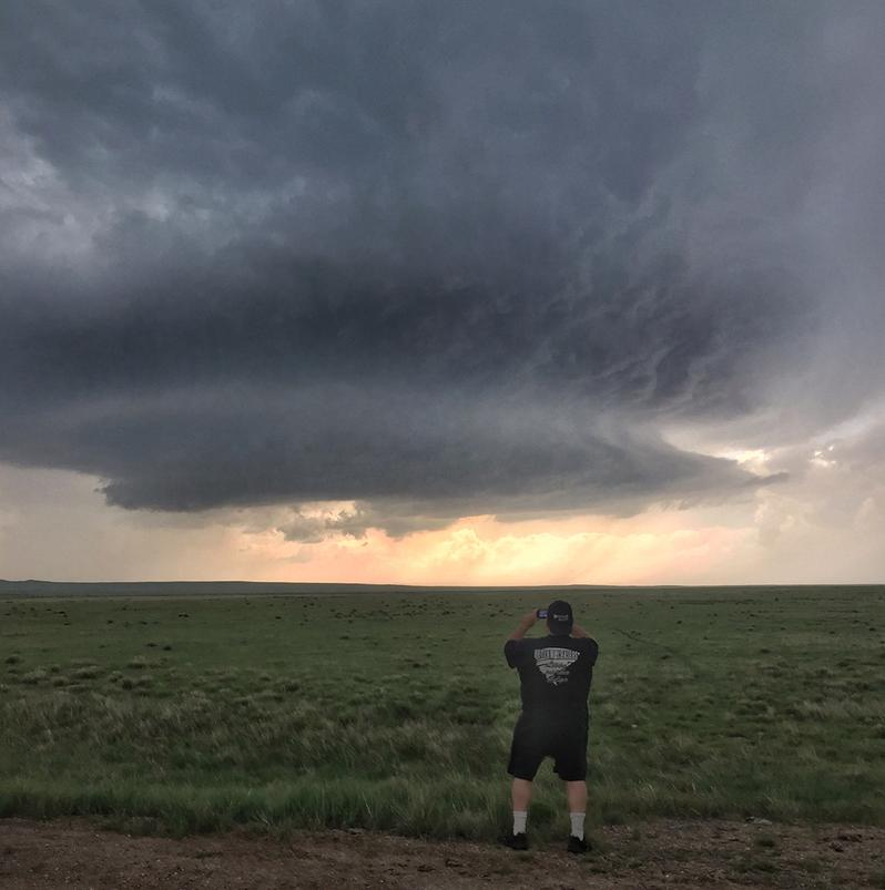 Storm Chaser Outlaw Randy Hicks Colorado supercell