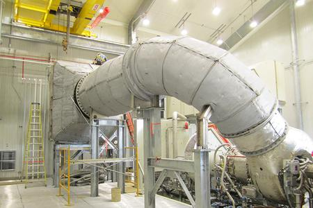 Gas Turbine Exhaust Silencers
