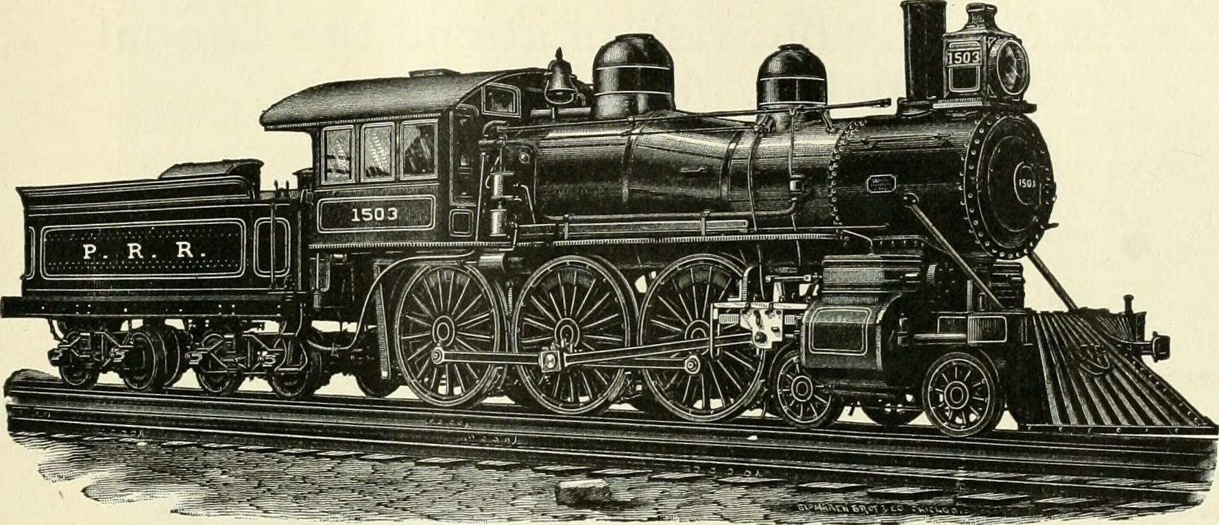 4-6-0 Ten Wheeler Steam Locomotive