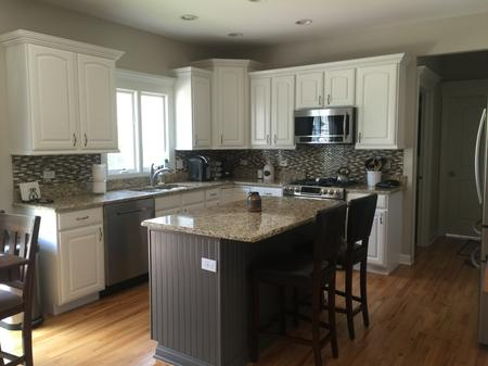 Kitchen Cabinet Refinishing and Painting, Elburn