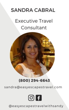 Easy Escapes Travel - Executive Travel Consultant - Sandra Cabral