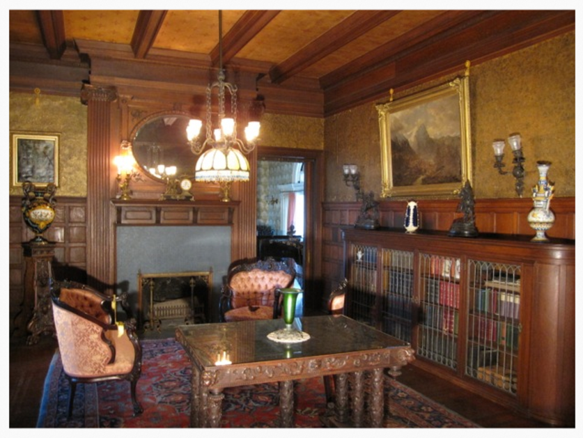 Reception Room, Rockcliffe Mansion, Hannibal Missouri