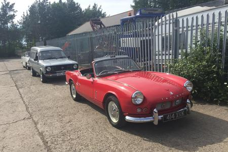 1963 & 1964 TRIUMPH SPITFIRE 4 MK1 VERY RARE GREAT INVESTMENT TAX EXEMPT