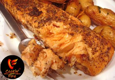 Our Contemporary Version of a Classic Grilled Salmon Recipe, spiced up with Chef of the Future Brand Seasonings